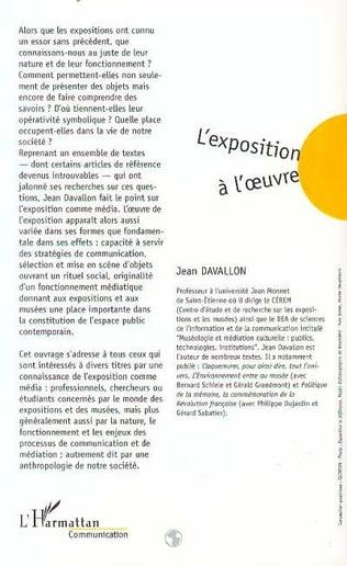 4eme L'EXPOSITION A L'ŒUVRE