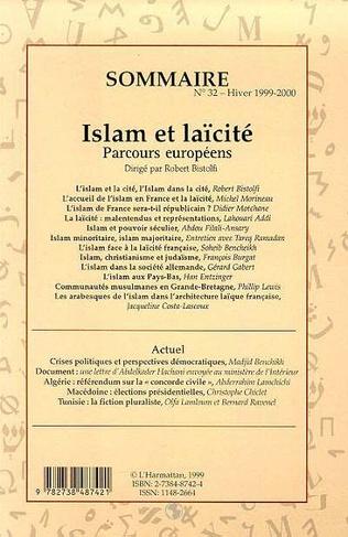 4eme Islam et laïcité