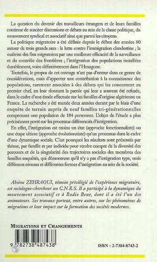 4eme FAMILLES D'ORIGINE ALGERIENNE EN FRANCE