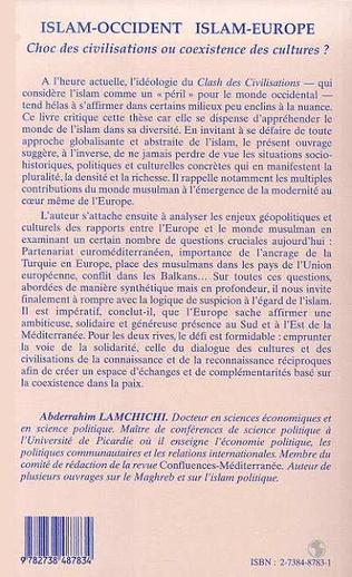 4eme ISLAM-OCCIDENT ISLAM-EUROPE