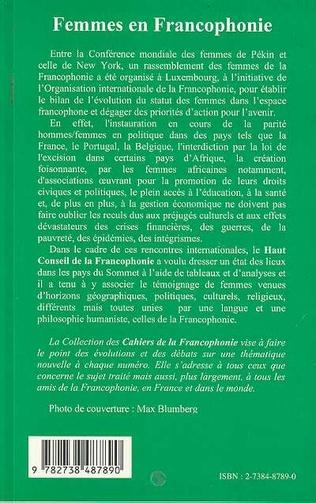 4eme FEMMES EN FRANCOPHONIE