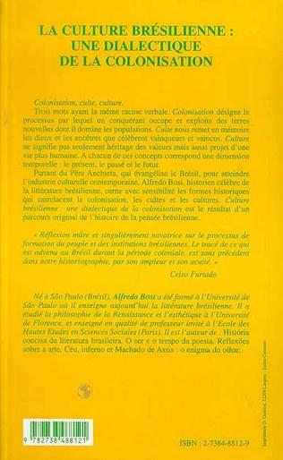4eme LA CULTURE BRÉSILIENNE : UNE DIALECTIQUE DE LA COLONISATION