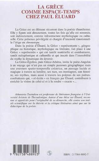 4eme LA GRECE COMME ESPACE-TEMPS CHEZ PAUL ELUARD