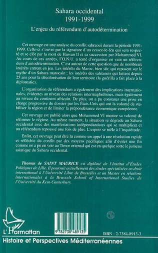 4eme SAHARA OCCIDENTAL 1991-1999