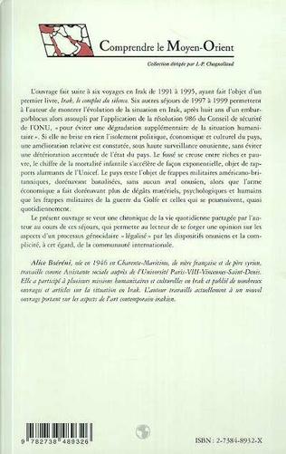 4eme CHRONIQUES DE BAGDAD 1997-1999