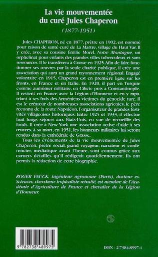4eme LA VIE MOUVEMENTEE DU CURE JULES CHAPERON