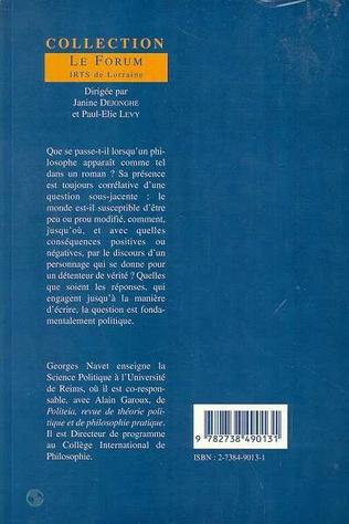 4eme Le philosophe comme fiction