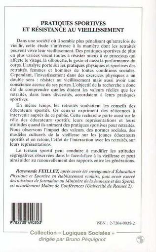 4eme PRATIQUES SPORTIVES ET RESISTANCE AU VIEILLISSEMENT