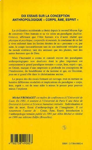 4eme DIX ESSAIS SUR LA CONCEPTION ANTHROPOLOGIQUE