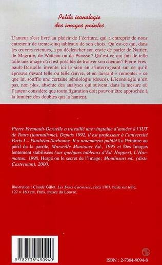 4eme PETITE ICONOLOGIE DES IMAGES PEINTES