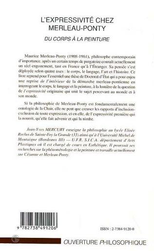 4eme L'EXPRESSIVITE CHEZ MERLEAU-PONTY
