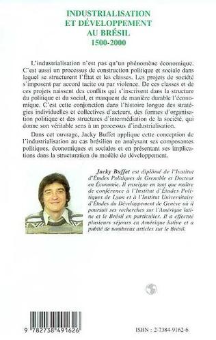 4eme INDUSTRIALISATION ET DÉVELOPPEMENT AU BRESIL 1500-2000