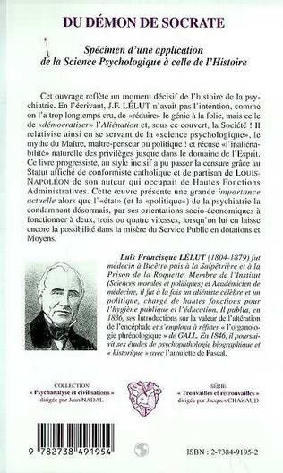 4eme DEMON (DU) DE SOCRATE