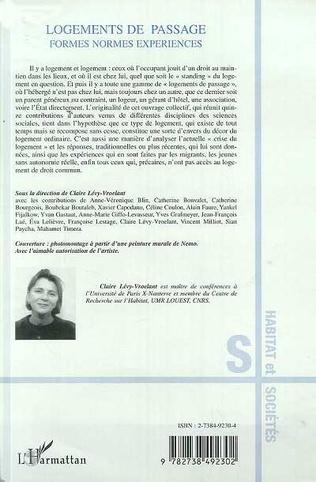 4eme LOGEMENTS DE PASSAGE