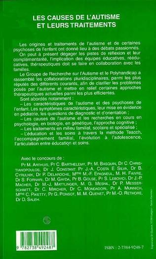 4eme Aspects biologiques de l'autisme et syndrome de Gilles de la Tourette