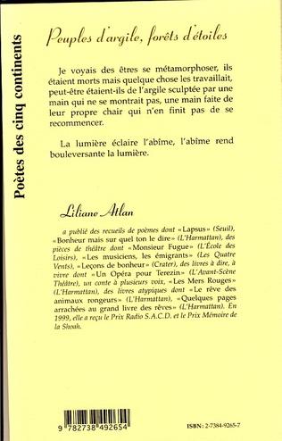 4eme PEUPLES D'ARGILE, FORETS D'ETOILES