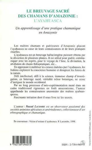 4eme LE BREUVAGE SACRÉ DES CHAMANS D'AMAZONIE : L'AYAHUASCA