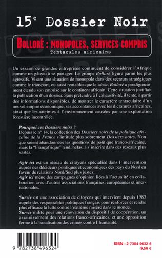 4eme Bolloré : monopoles, services compris