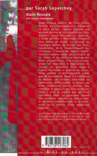 4eme Alain Resnais : une lecture topologique