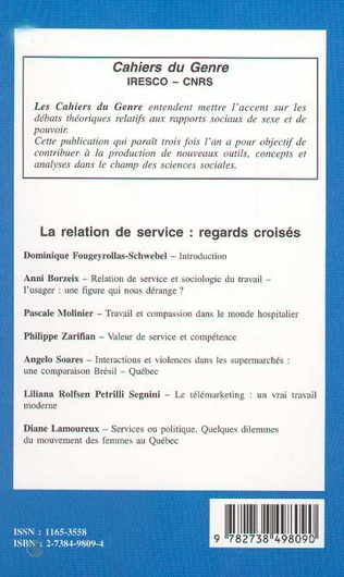 4eme LA RELATION DE SERVICE