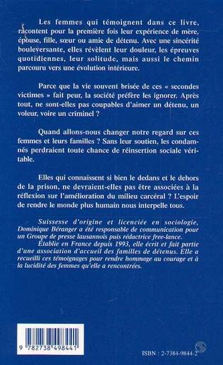 4eme MÈRE FEMME FILLE SŒUR AMIE DE DÉTENU
