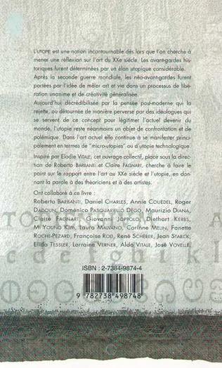 4eme L'ART AU XXe SIÈCLE ET L'UTOPIE