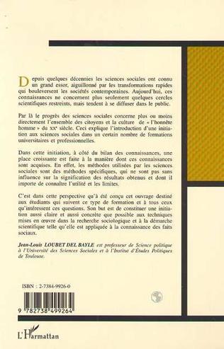 4eme INITIATION AUX MÉTHODES DES SCIENCES SOCIALES