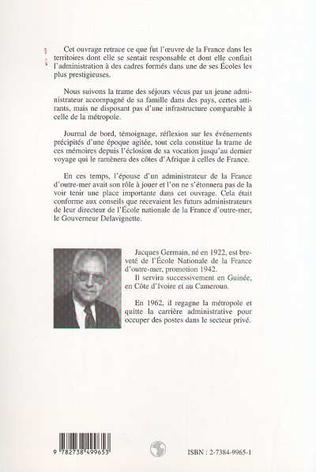 4eme DE LA GUINÉE AU CAMEROUN PAR LA CÔTE D'IVOIRE 1946-1962
