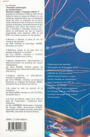 4eme Nouvelles Technologies de Communication