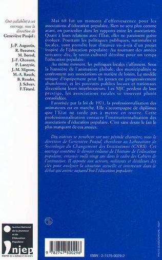4eme ÉDUCATION POPULAIRE : LE TOURNANT DES ANNÉES 70
