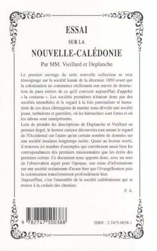 4eme ESSAI SUR LA NOUVELLE-CALÉDONIE
