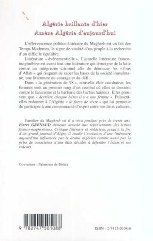 4eme Algérie brillante d'hier