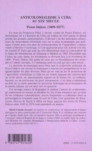 4eme ANTICOLONIALISME À CUBA AU XIXe SIÈCLE