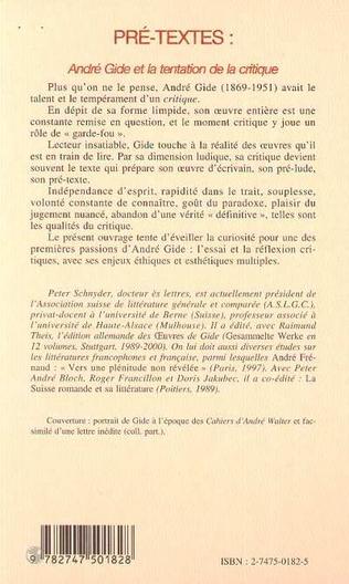 4eme PRE-TEXTES
