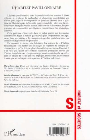 4eme L'HABITAT PAVILLONNAIRE