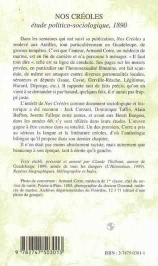 4eme NOS CRÉOLES