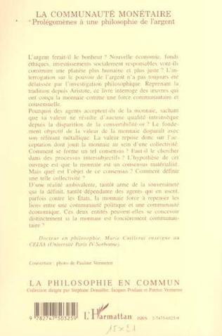 4eme LA COMMUNAUTÉ MONÉTAIRE