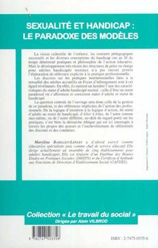 4eme SEXUALITE ET HANDICAP : LE PARADOXE DES MODÈLES
