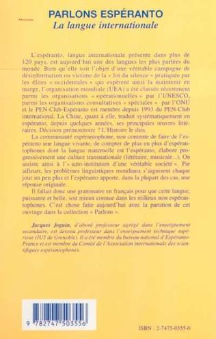 4eme PARLONS ESPERANTO
