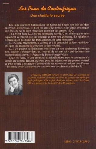 4eme LES PANA DE CENTRAFRIQUE