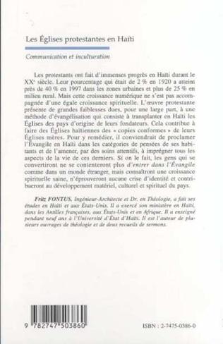 4eme LES ÉGLISES PROTESTANTES EN HAÏTI