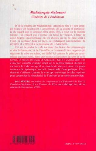 4eme MICHELANGELO ANTONIONI