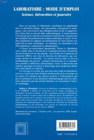 4eme LABORATOIRE : MODE D'EMPLOI