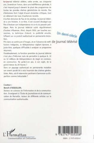 4eme UN DEMI-SIÈCLE DE JOURNAL TELEVISÉ