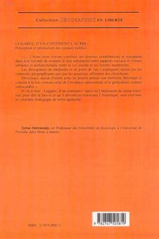 4eme LUGARES, D'UN CONTINENT L'AUTRE…
