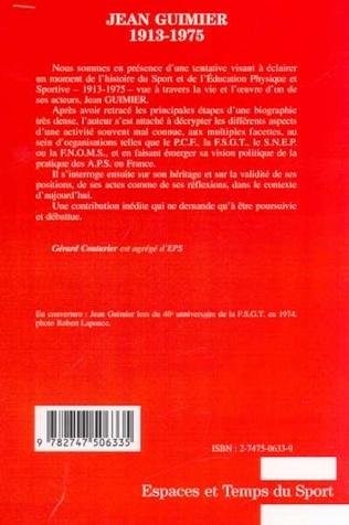 4eme JEAN GUIMIER 1913-1975
