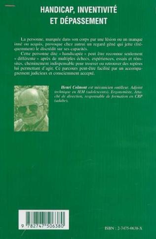 4eme HANDICAP, INVENTIVITÉ ET DÉPASSEMENT
