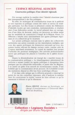4eme L'ESPACE REGIONAL ALSACIEN