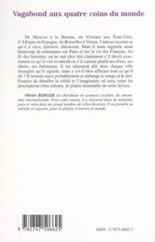 4eme VAGABOND AUX QUATRE COINS DU MONDE