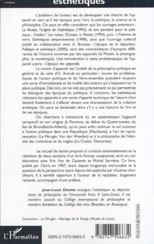 4eme L'EPOQUE DE L'APPAREIL PERSPECTIF (Brunellesci, Machiavel, Descartes)